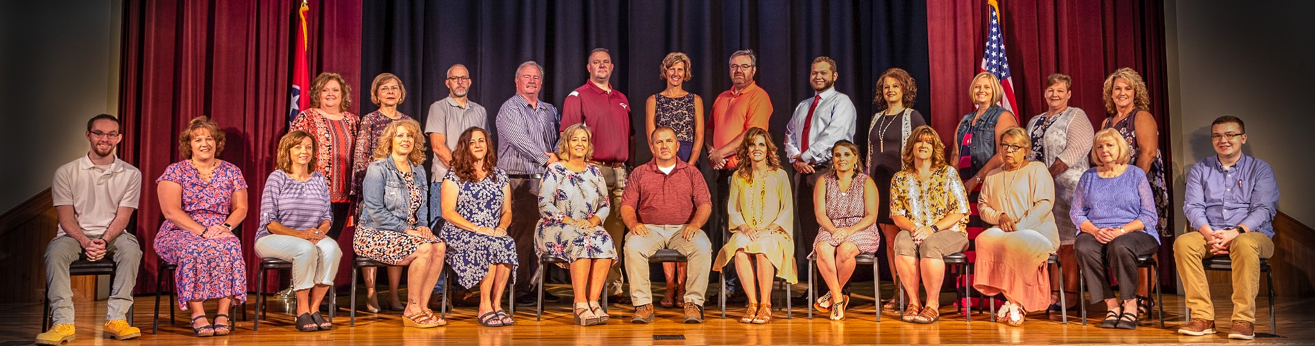 Johnson County Schools Central Office Staff 2020-21