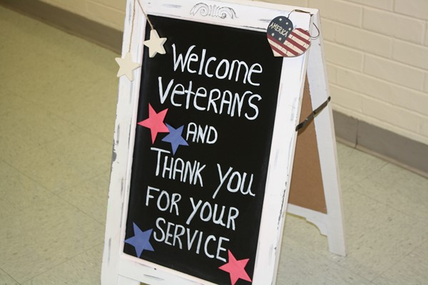 Welcome Veterans